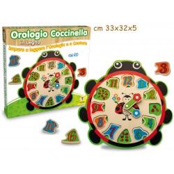 Puzzle Legno Orologio...