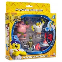 Spongebob Heroes Figure Set...